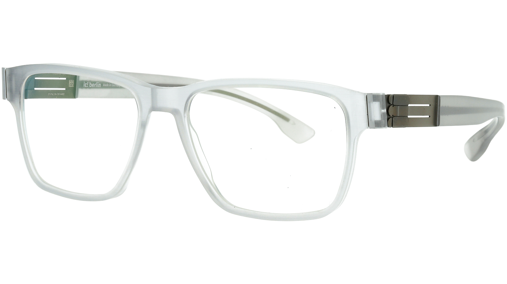ic! Berlin Meta Sky-Grey-Rough 55 Mittwoch Glasses