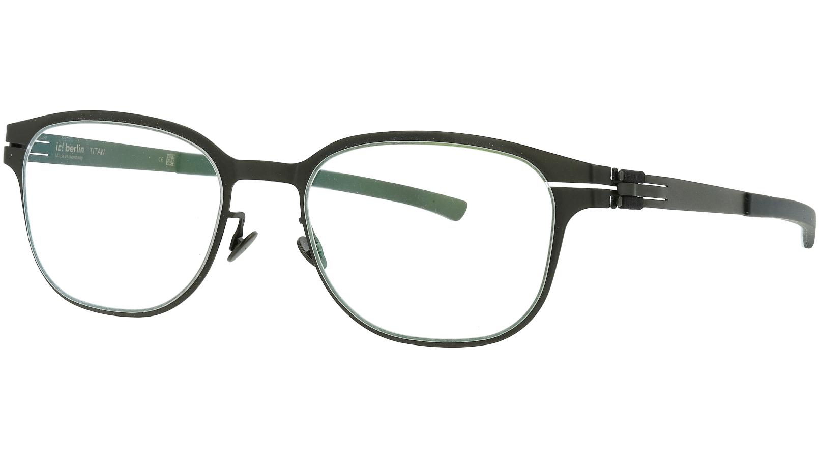 ic! Berlin T117 Black 51 Flex Glasses