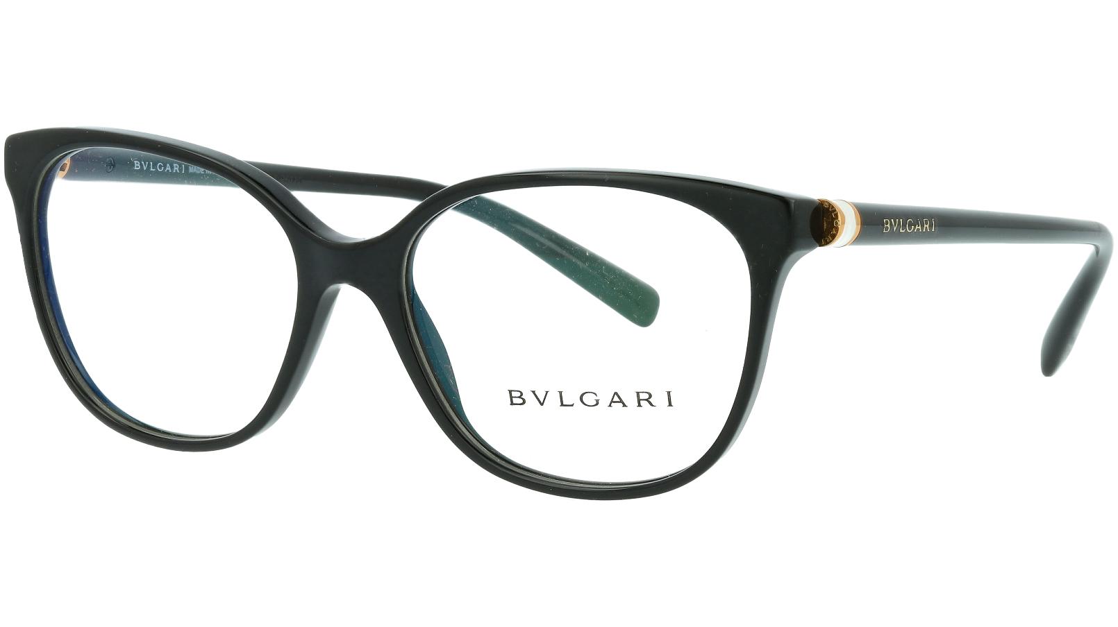 Bvlgari BV4129 501 54  Black Glasses