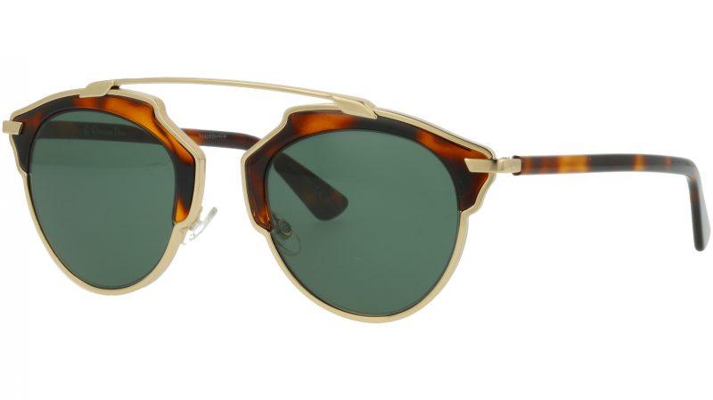 DIOR DIORSOREAL 06JQT 48 GOLD Sunglasses