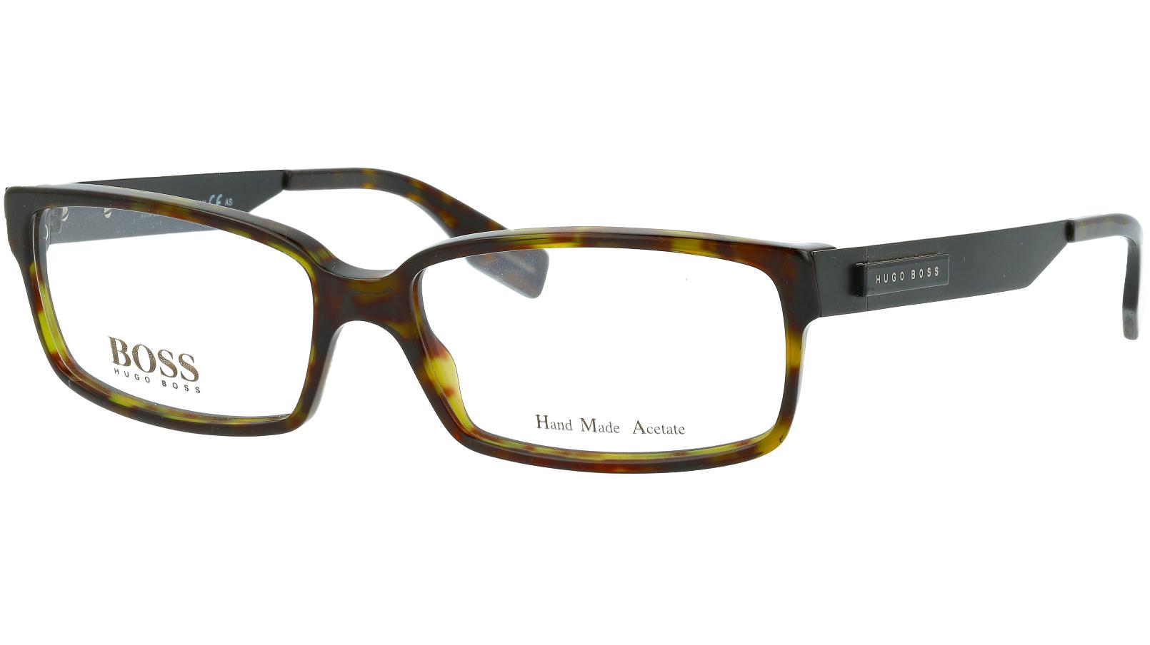 HUGO BOSS BOSS0369 D0N 55 HAVANA Eye Glasses